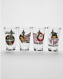 Elf Pint Glasses 4 Pack - 16 oz.