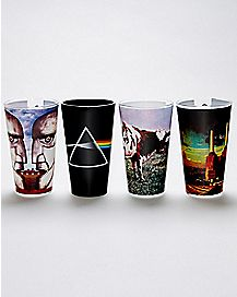 Pink Floyd Pint Glasses 4 Pack - 16 oz.
