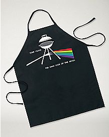 Dark Side Of The Grill Pink Floyd Apron