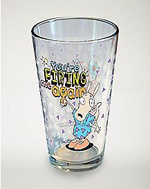 You're Firing Me Again Rocko's Modern Life Pint Glass 16 oz. - Nickelodeon