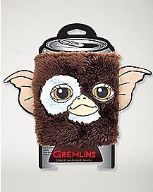 Faux Fur Gizmo Can Cooler - Gremlins