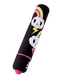 Rainbow Waterproof Bullet Vibrator 3.75 Inch - Tokidoki