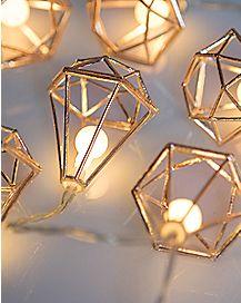 Geometric String Lights