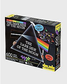 2-in-1 Dark Side of the Moon Pink Floyd Jigsaw Puzzle