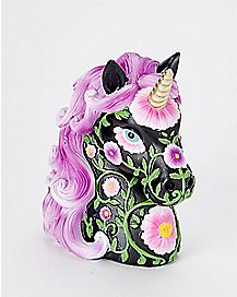 Black and Purple Unicorn Bank