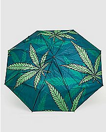 Weed Leaf Umbrella