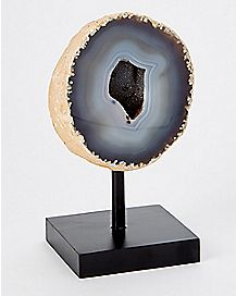 Polished Brazilian Geode With Stand