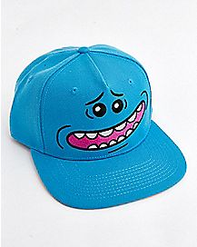 Mr. Meeseeks Snapback Hat - Rick and Morty