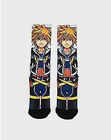Sora Crew Socks - Kingdom Hearts