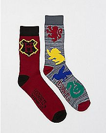 Harry Potter Crew Socks - 2 Pack