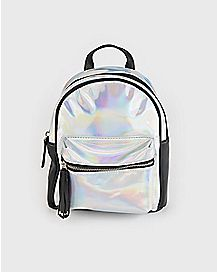 Iridescent Mini Backpack