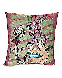 Aaahh!!! Real Monsters Pillow - Nickelodeon
