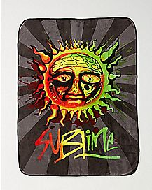 Sun Sublime Fleece Blanket