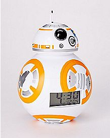 Light Up BB-8 Alarm Clock - Star Wars