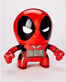 Light Up Deadpool Alarm Clock - Marvel