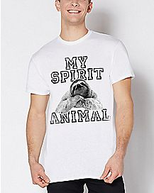 My Spirit Animal Sloth T Shirt
