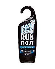 Rub It Out Shower Masturbation Cream 8 oz.