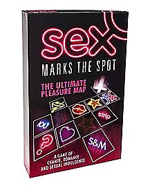 Sex Marks The Spot Board Game