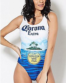 Corona Extra One Piece Bathing Suit