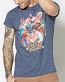 Group Street Fighter T Shirt