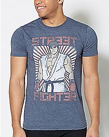 Ryu Street Fighter T Shirt