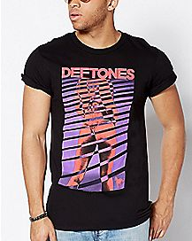 Guys Deftones T Shirt