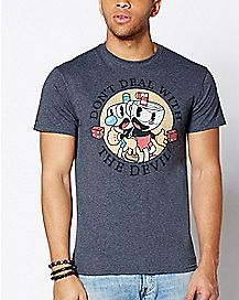Double Dealings Cuphead T Shirt