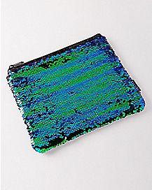 Mermaid Magic Sequin Pouch Wallet