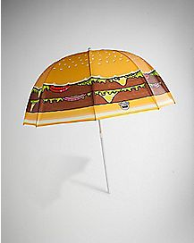 Cheeseburger Umbrella