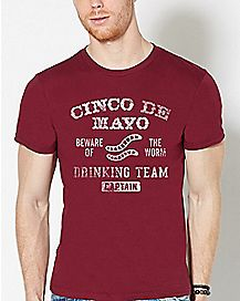 Cinco De Mayo Drinking Team T Shirt