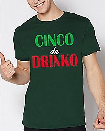 Cinco De Drinko T Shirt