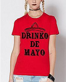 Drinko De Mayo T Shirt