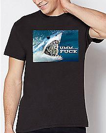Um Fuck Cat Shark T Shirt