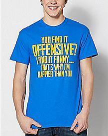 Happier Than You Plus Size T Shirt