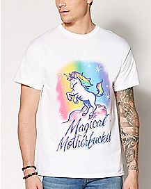 Magical Motherfucker Unicorn Plus Size T Shirt