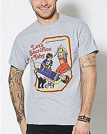 Let's Sacrifice Toby Plus Size T Shirt - Steven Rhodes