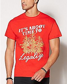 It's Aboot Time to Legalize Canada T Shirt