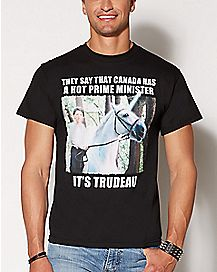 Hot Prime Minister Trudeau T Shirt