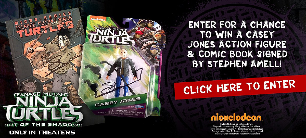 TMNT Casey Jones Sweepstakes