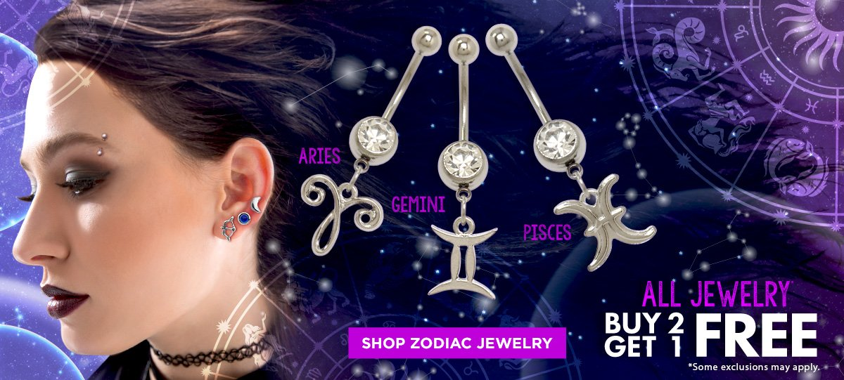 Shop Zodiac Jewelry