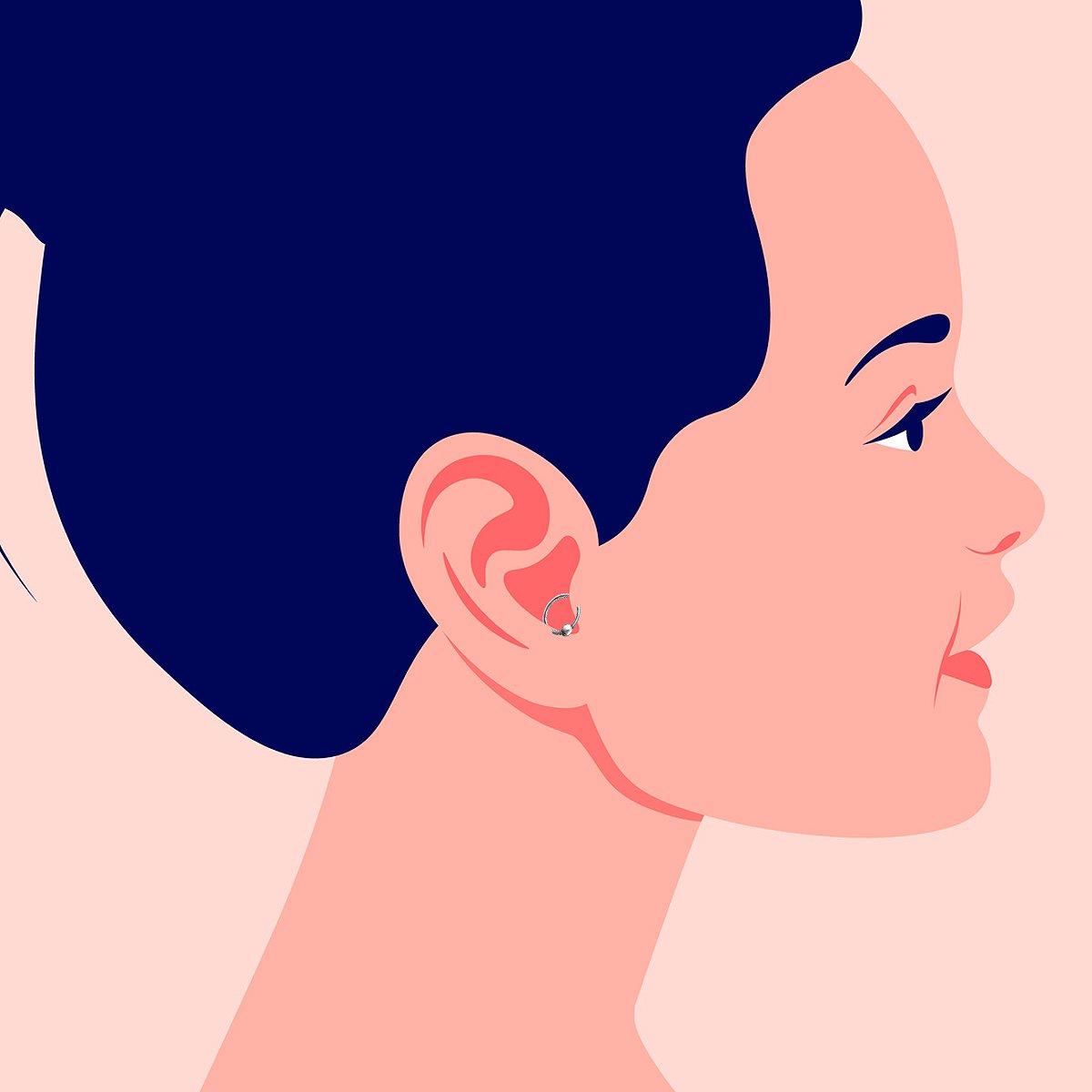 Orbital Ear Piercing