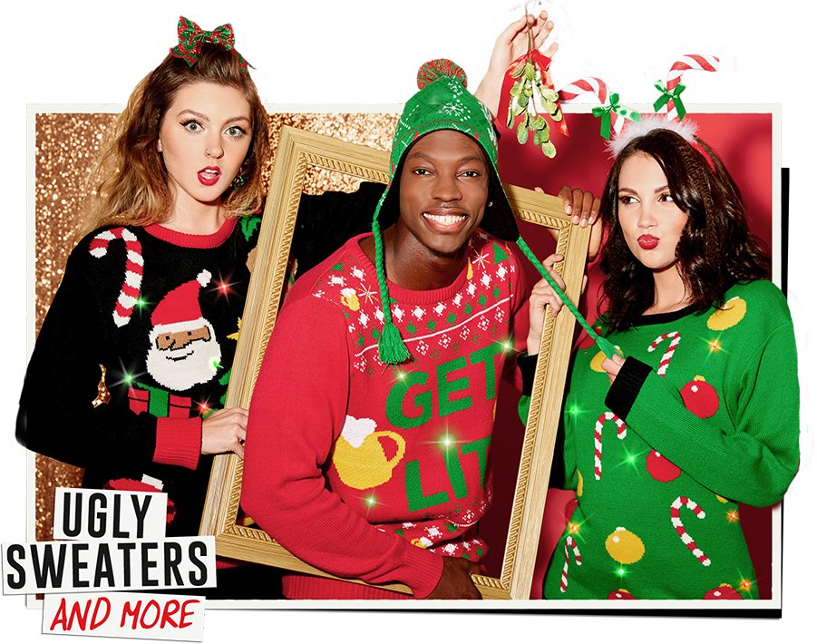 ulgy sweater and more
