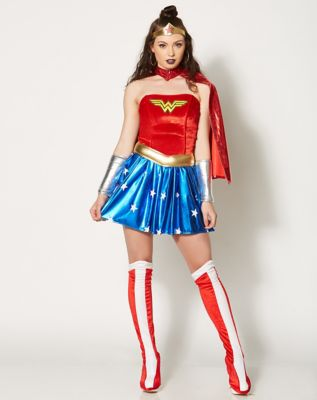 Adult Wonder Woman Costume - DC Comics - Size Adult Small - by Spencer