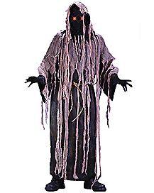 Adult Light Up Eyes Gauze Zombie Costume