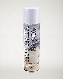 Metallic Silver Hairspray