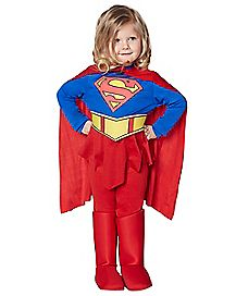 Toddler Supergirl Costume - Superman