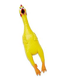 Squeaking Rubber Chicken
