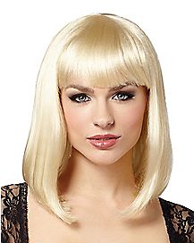 Blonde Pageboy Wig