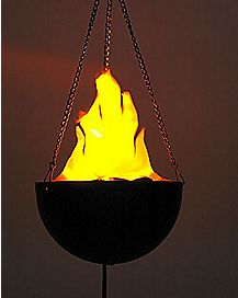 Mini Hanging Flame Light