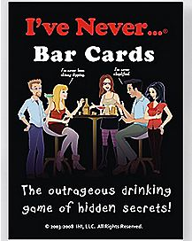 'I've Never…' Bar Card Game